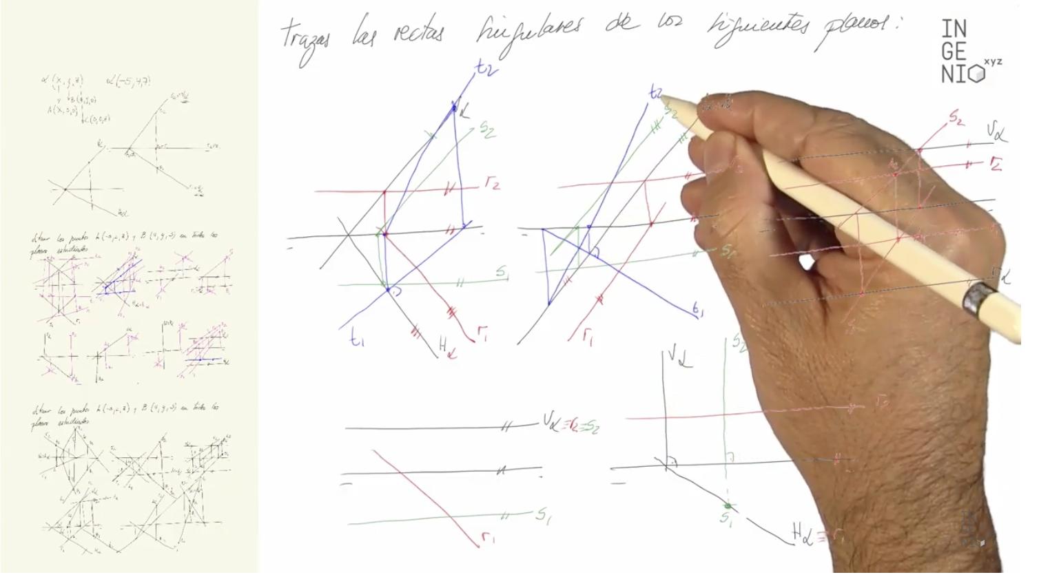 Imagen Curso online de Diédrico: matrícula gratuita para estudiantes, profesores y centros (Bachiller, FP y Universidad) durante los meses de Abril y Mayo