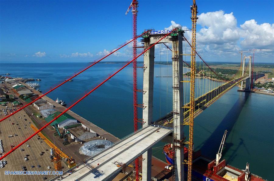 Imagen El puente colgante más grande de África