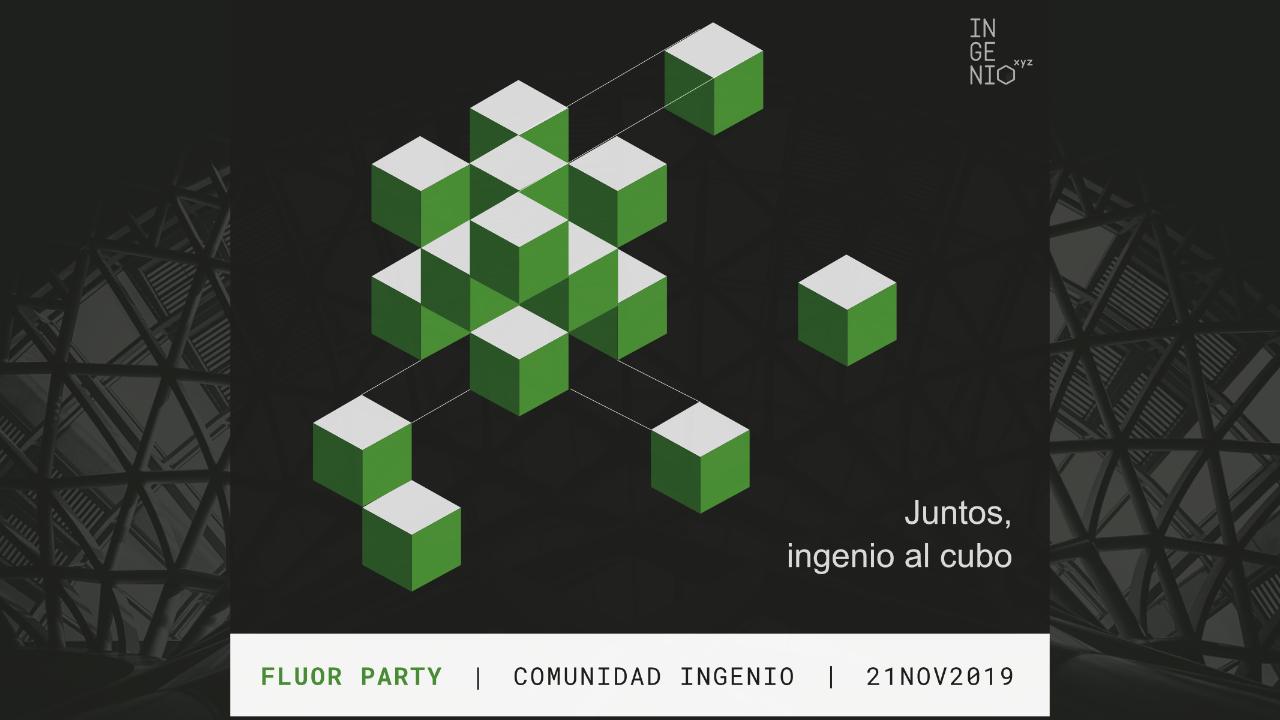 Imagen Ven a a la primera fiesta INGENIO.xyz y conoce al resto de miembros de la Comunidad de ingenio.xyz