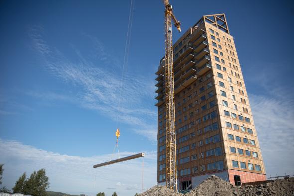 Imagen La Torre noruega Mjøs, próxima en marcar récords de altura en madera