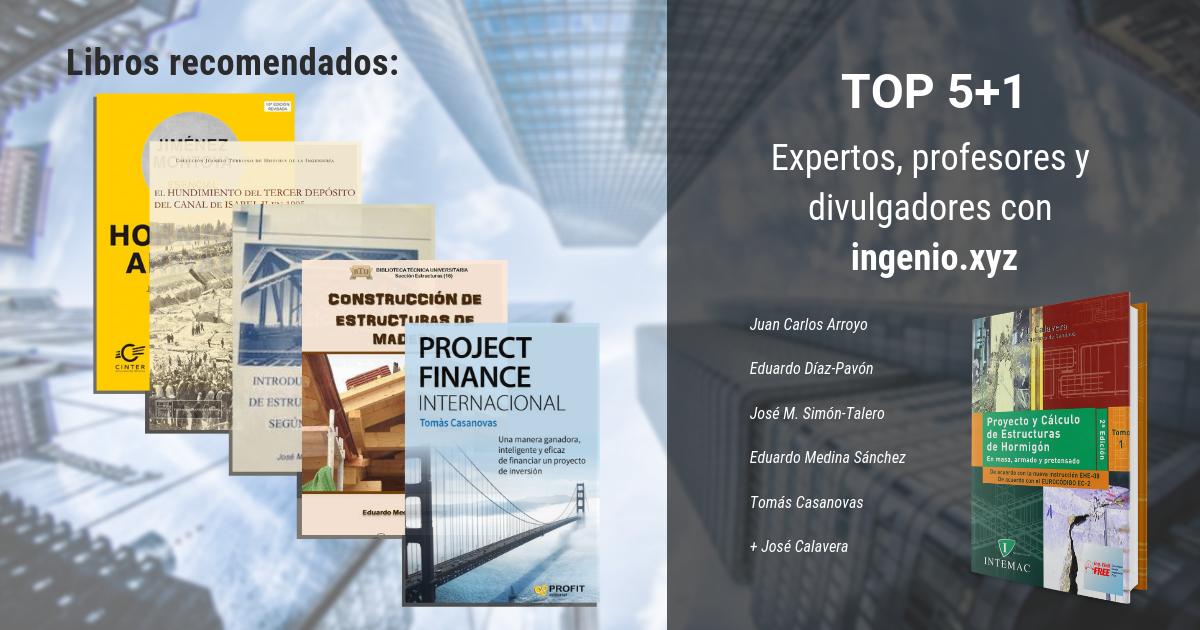 Imagen Expertos, profesores y divulgadores con ingenio.xyz: 5+1 libros recomendados