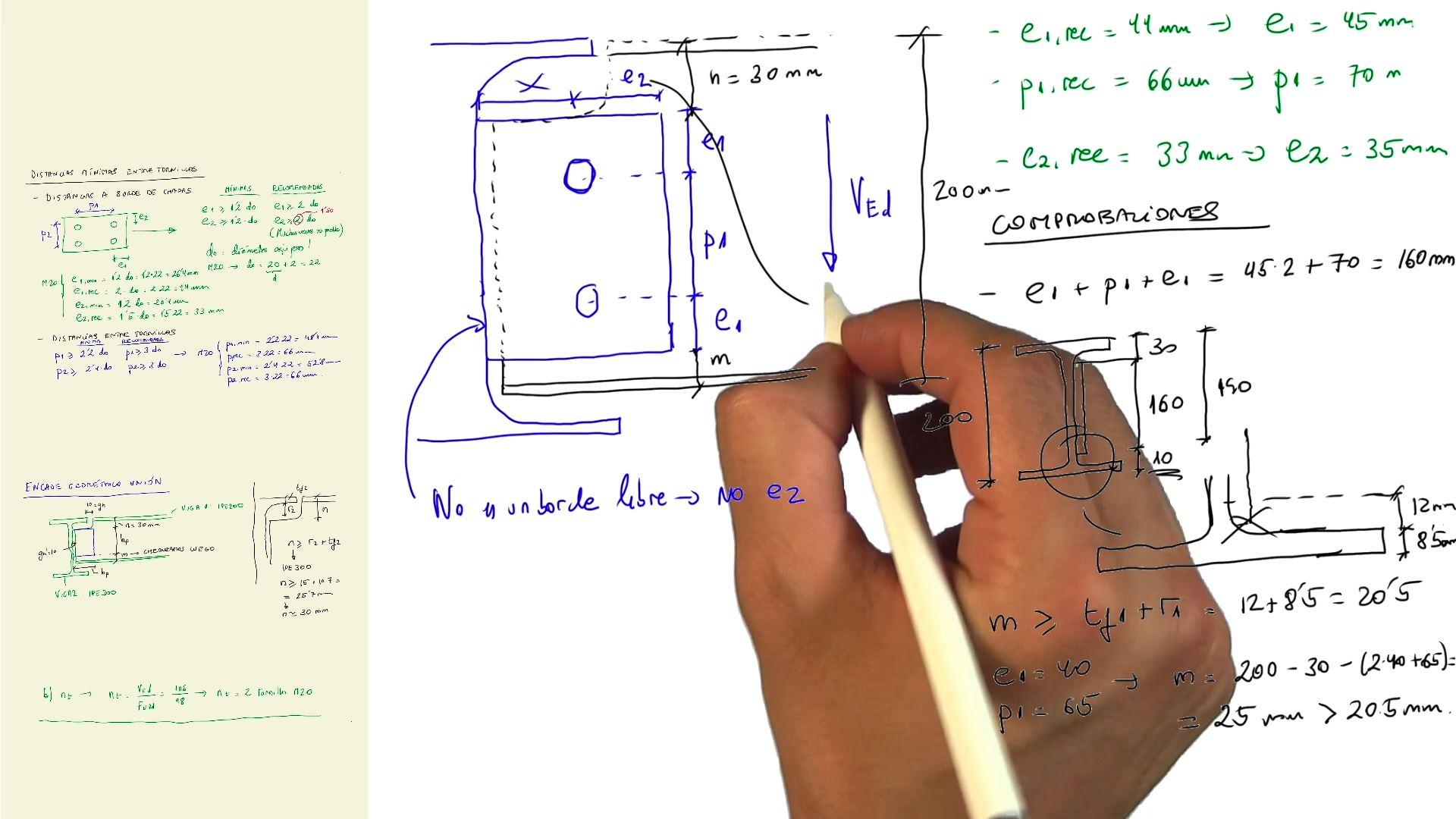 Imagen Uniones atornilladas en estructuras de acero, presentación del nuevo curso de ingenio.xyz (próximamente)