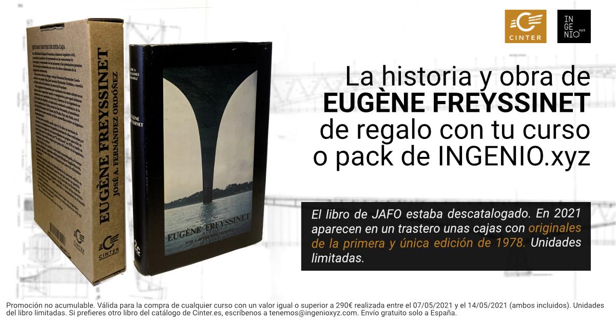 Imagen La historia y obra de Eugène Freyssinet, de regalo con tu curso o pack de INGENIO.xyz