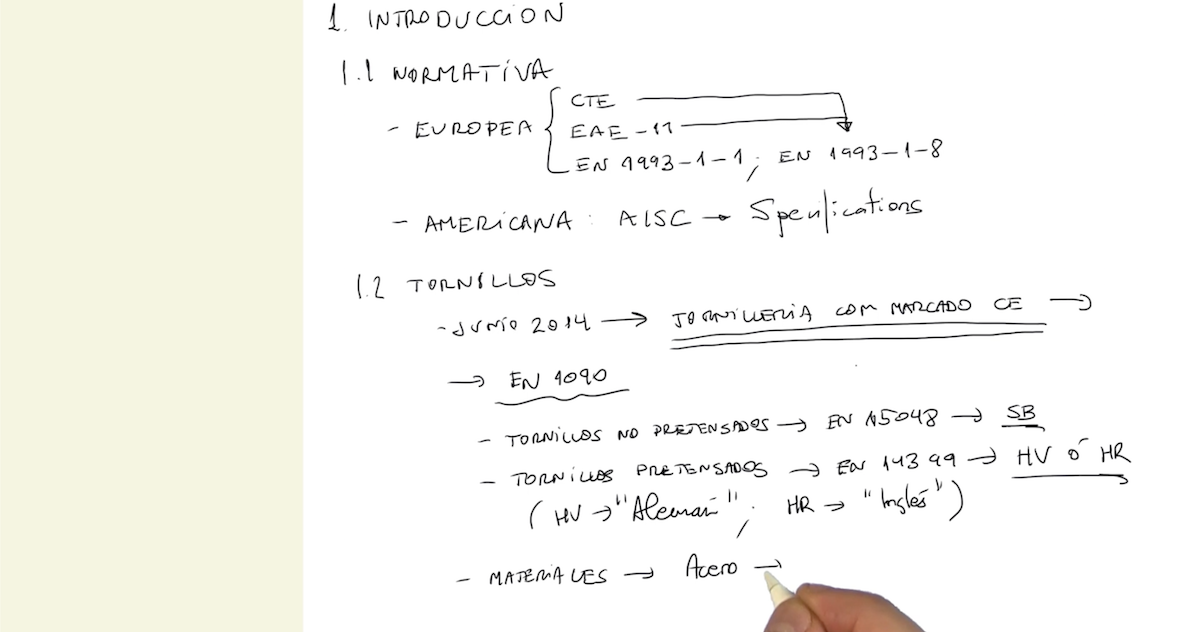 Imagen ¿Cómo especificar correctamente los tornillos usados en una unión atornillada (EN 1090)?