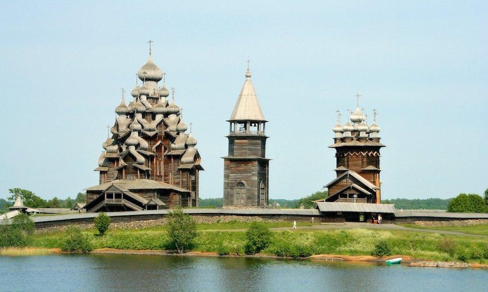 Imagen Arquitectura en madera de la isla rusa de Kizhí