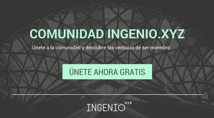 Imagen Las ventajas de ser miembro de la Comunidad de ingenio.xyz