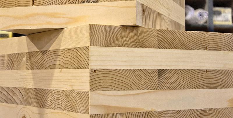 Imagen Paneles de madera contralaminada, material de construcción en Madrid