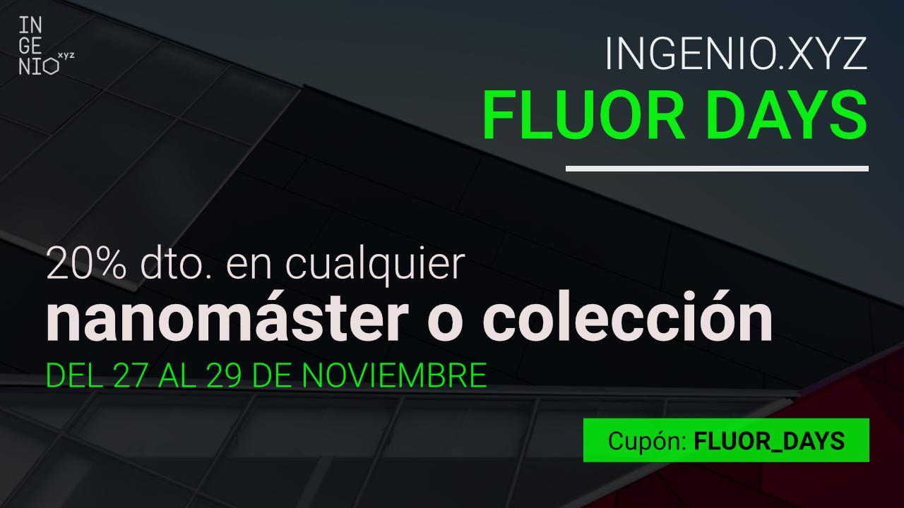 Imagen Fluor Days: 20% dto. en cualquier Nanomáster o Colección de ingenio.xyz