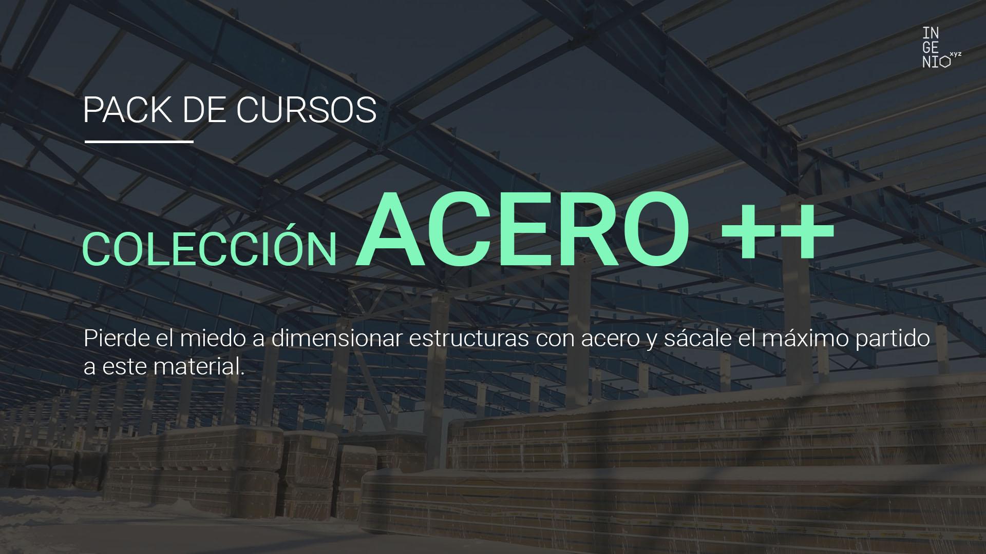 Colección de cursos de estructuras de acero