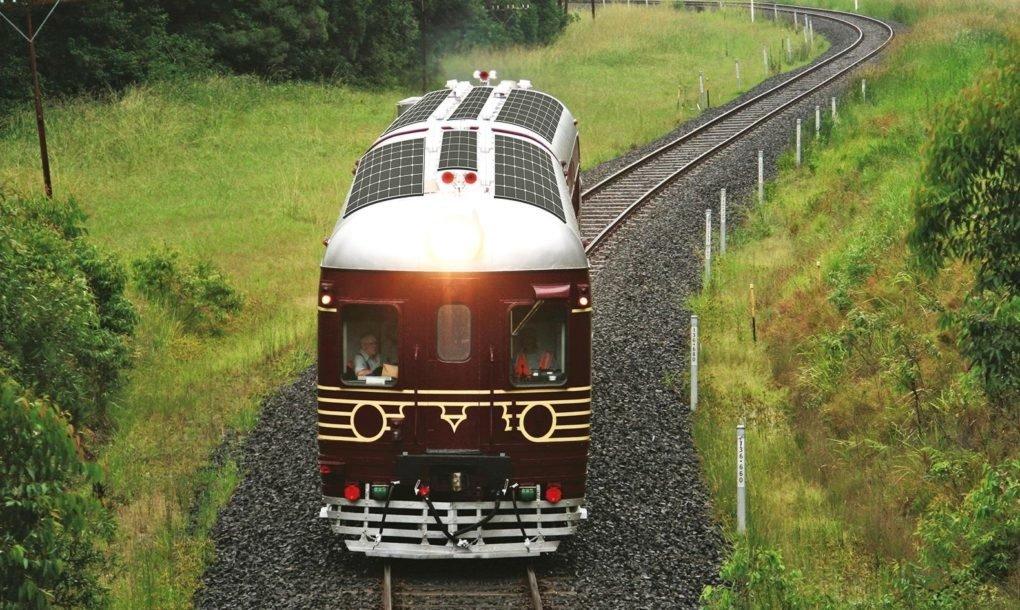 Imagen Un tren solar que llevará turistas hasta Machu Picchu