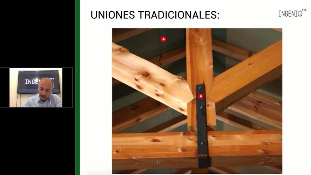 Imagen Uniones tradicionales en estructuras de madera