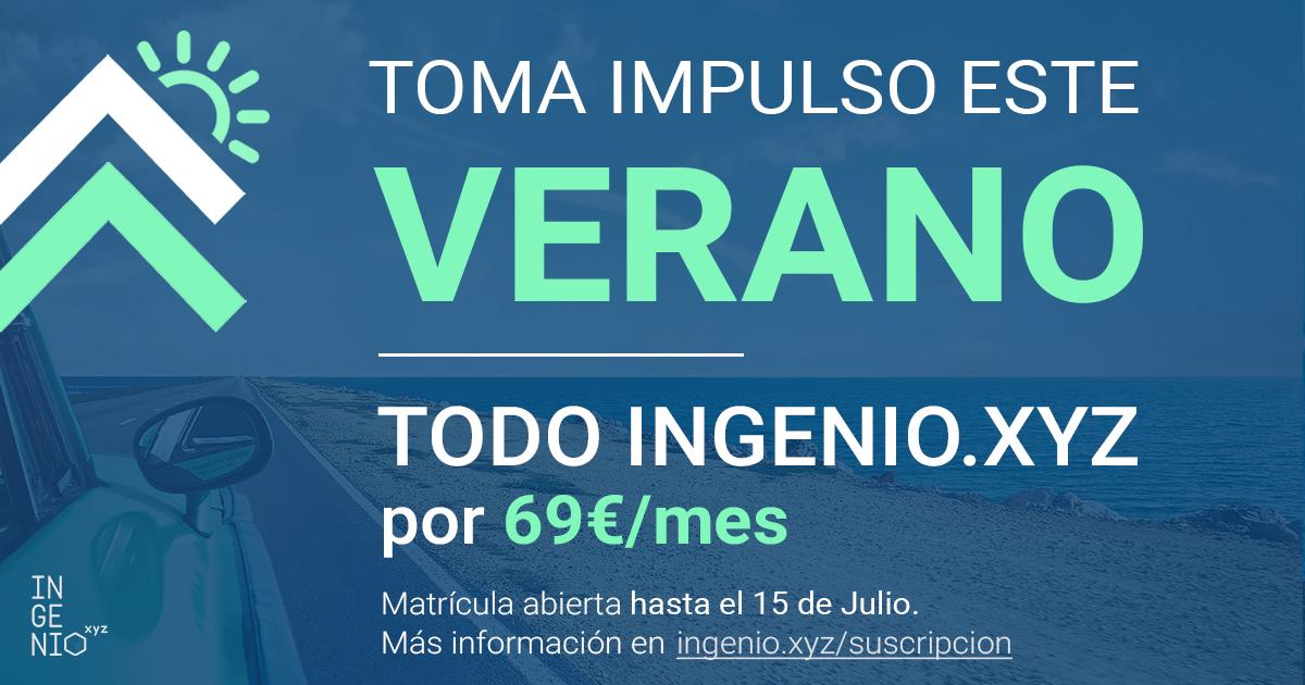 Imagen Impulso de verano, TODO INGENIO.XYZ por 69€/mes