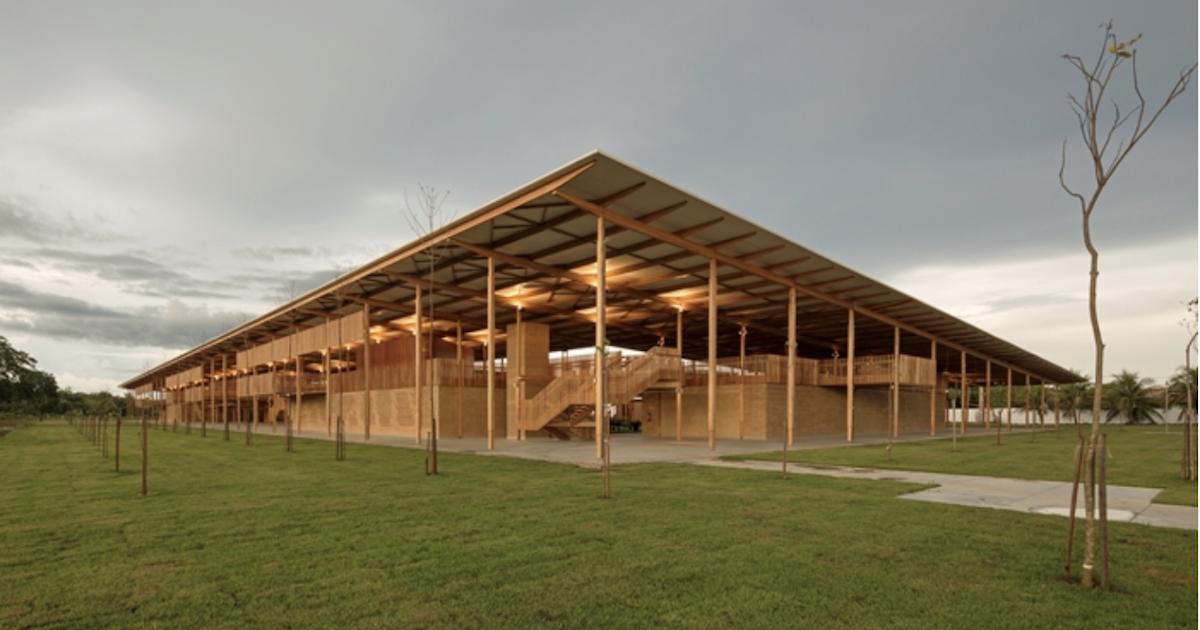 Imagen Aldeia das Crianças: el mejor edificio del mundo es de madera