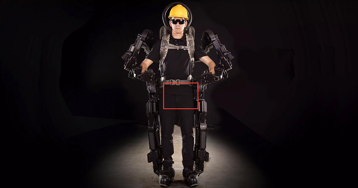 Imagen Exoesqueletos, tecnología para mejorar la PRL en Construcción