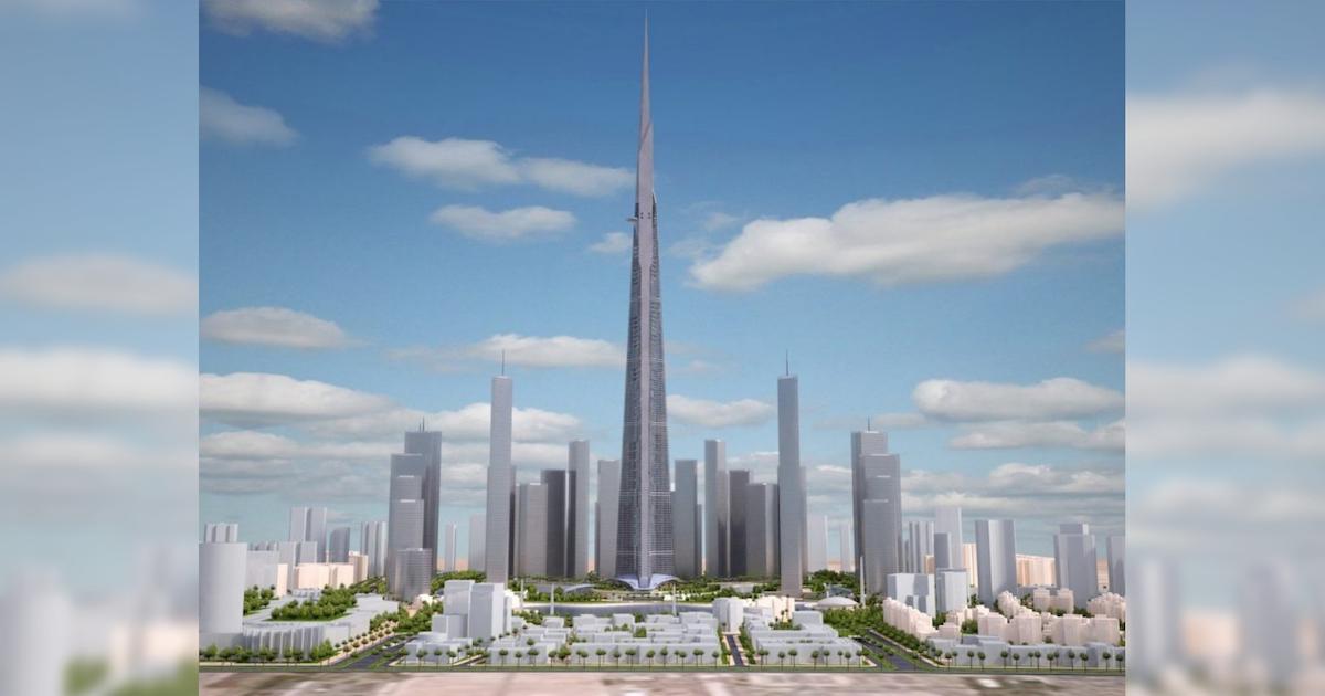 Imagen Jeddah Tower, un kilómetro de altura para ser récord del planeta