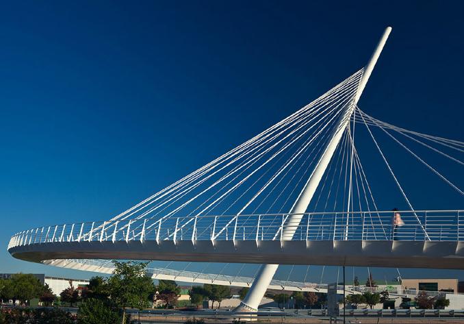 Imagen Puentes atirantados para mejorar la movilidad en Toledo