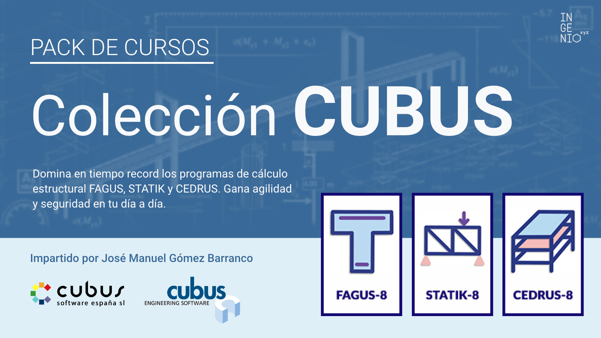 Colección de cursos Cubus: Fagus, Statik y Cedrus