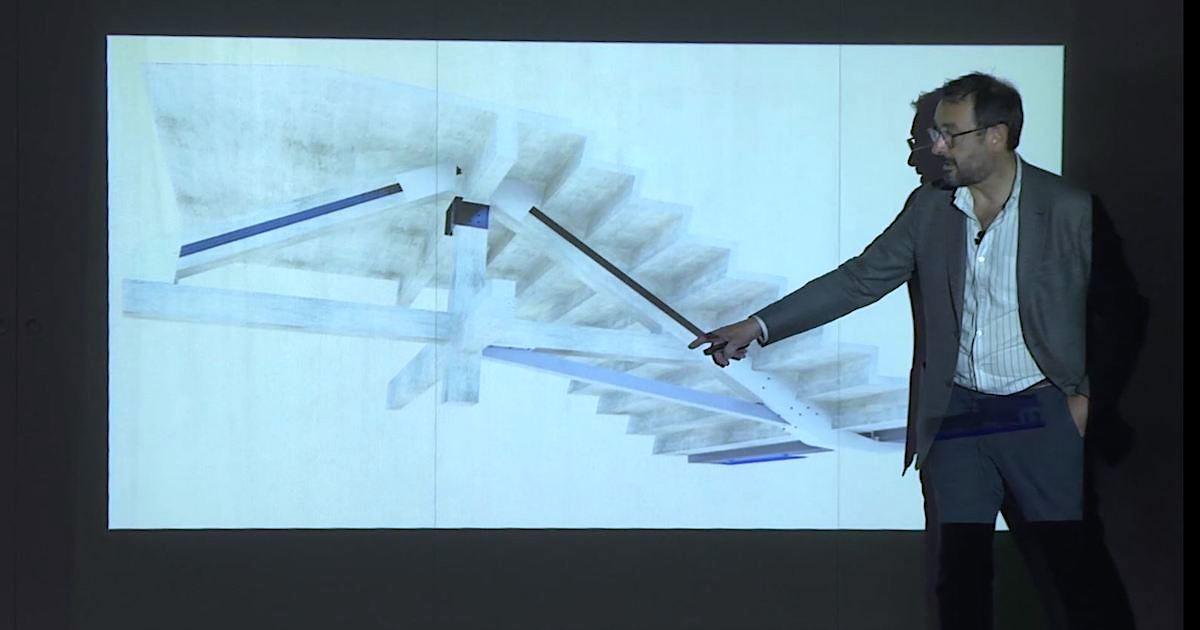 """Imagen """"El secreto de las estructuras: entenderlas"""", conferencia de Juan Carlos Arroyo en la @ETSAMadrid"""