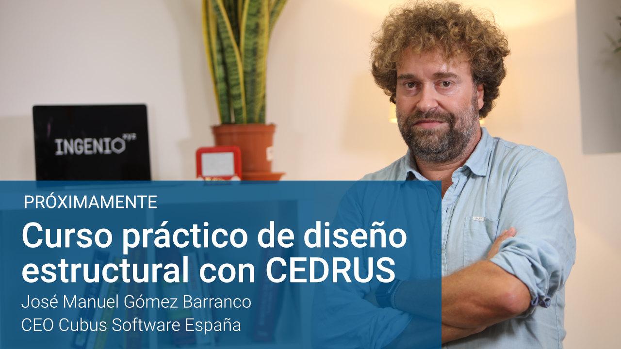 Imagen Curso de diseño estructural con CEDRUS, próximamente disponible