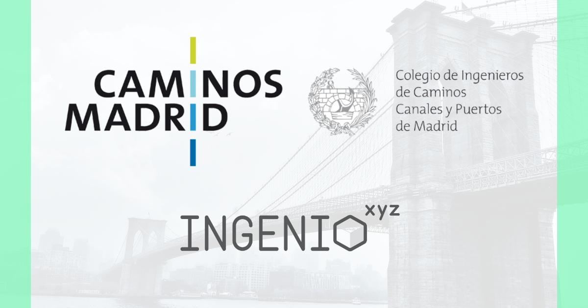 Imagen INGENIO.xyz y la Demarcación de Madrid del CICCP acuerdan condiciones ventajosas excepcionales para sus colegiados y empleados #QuédateEnCasa