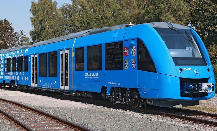 Imagen El primer tren de hidrógeno del mundo circulará por vías alemanas en septiembre