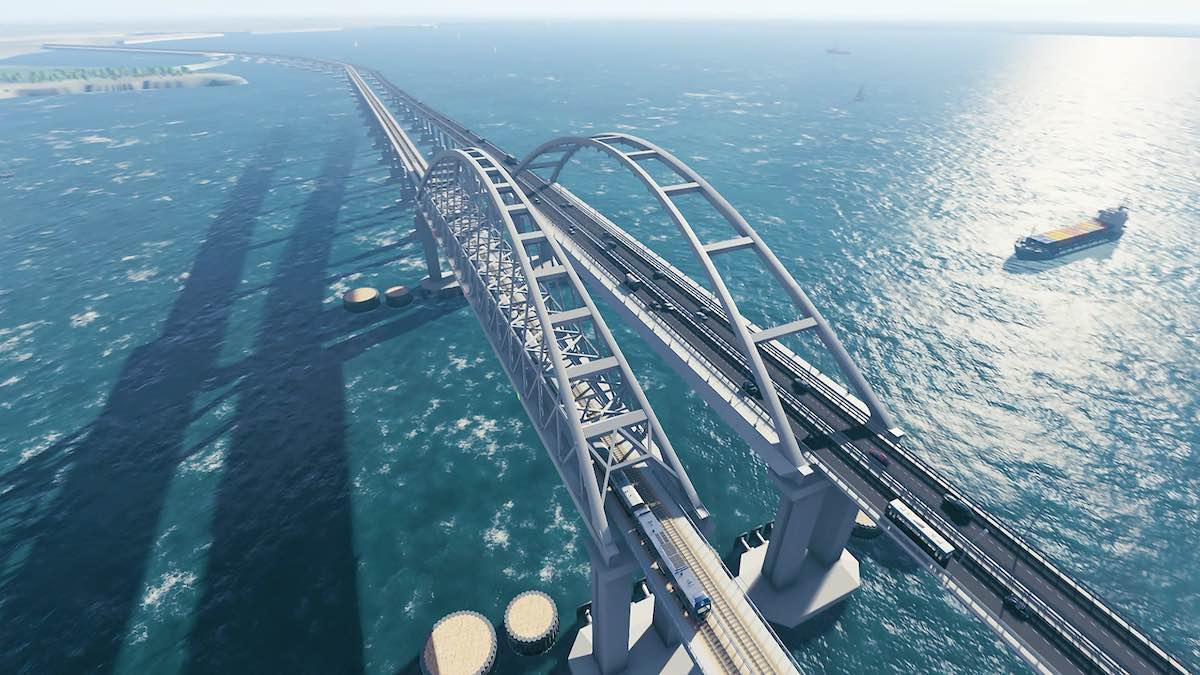 Imagen El proyecto más ambicioso de la ingeniería rusa: el puente de Crimea