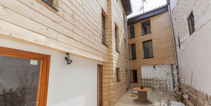 Imagen Navarra apuesta por la construcción sostenible usando madera bajo el estándar passivhaus
