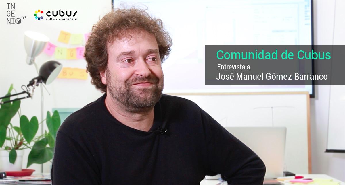 Imagen Entrevista a José Manuel Gómez, CEO de Cubus Software España y profesor experto de ingenio.xyz