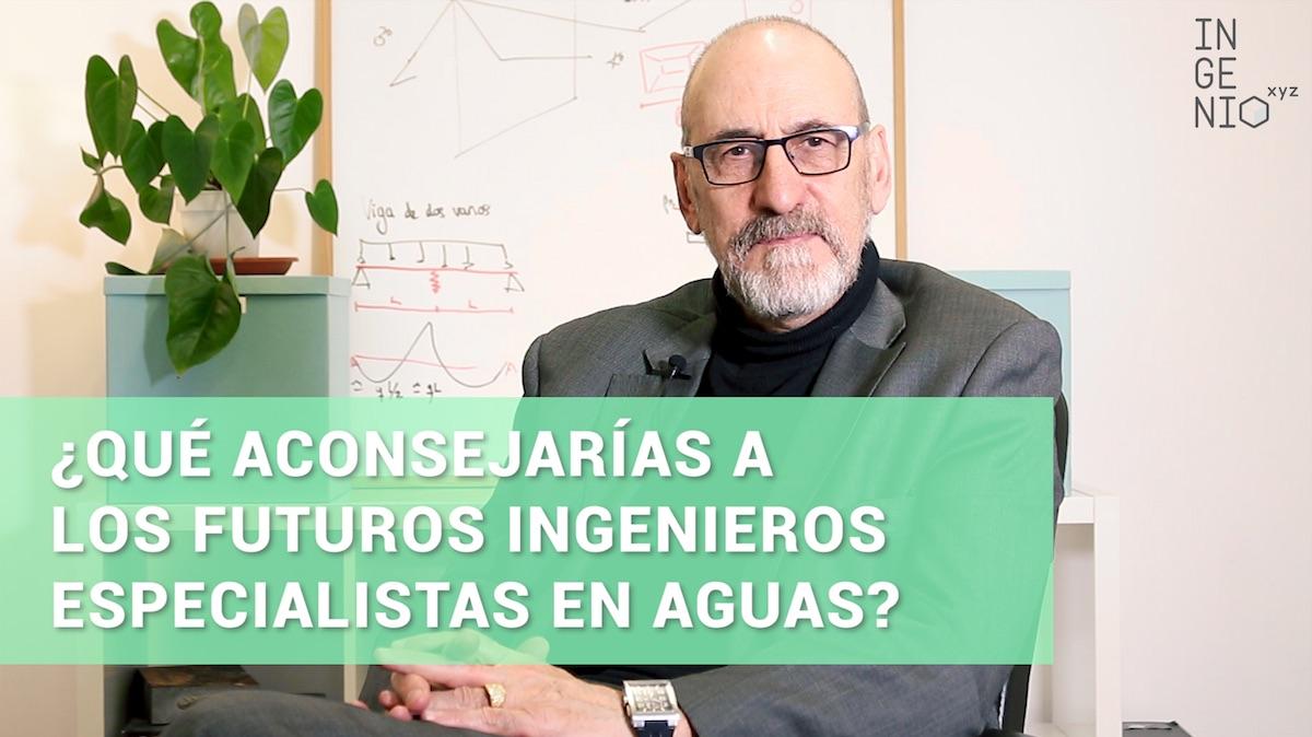 Imagen ¿Qué consejo darías a los futuros ingenieros especialistas en aguas residuales? Entrevista a Jorge Chamorro