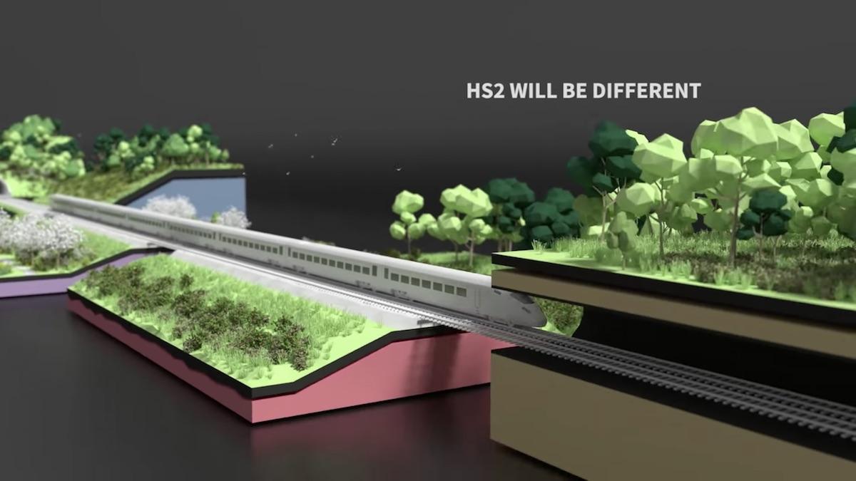 """Imagen Un corredor verde """"sin precedentes"""" para la alta velocidad en Reino Unido"""